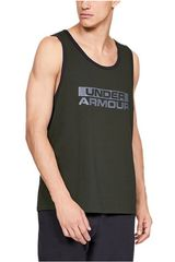 Under Armour Negro de Hombre modelo sportstyle cotton tank-grn Bividis Deportivo