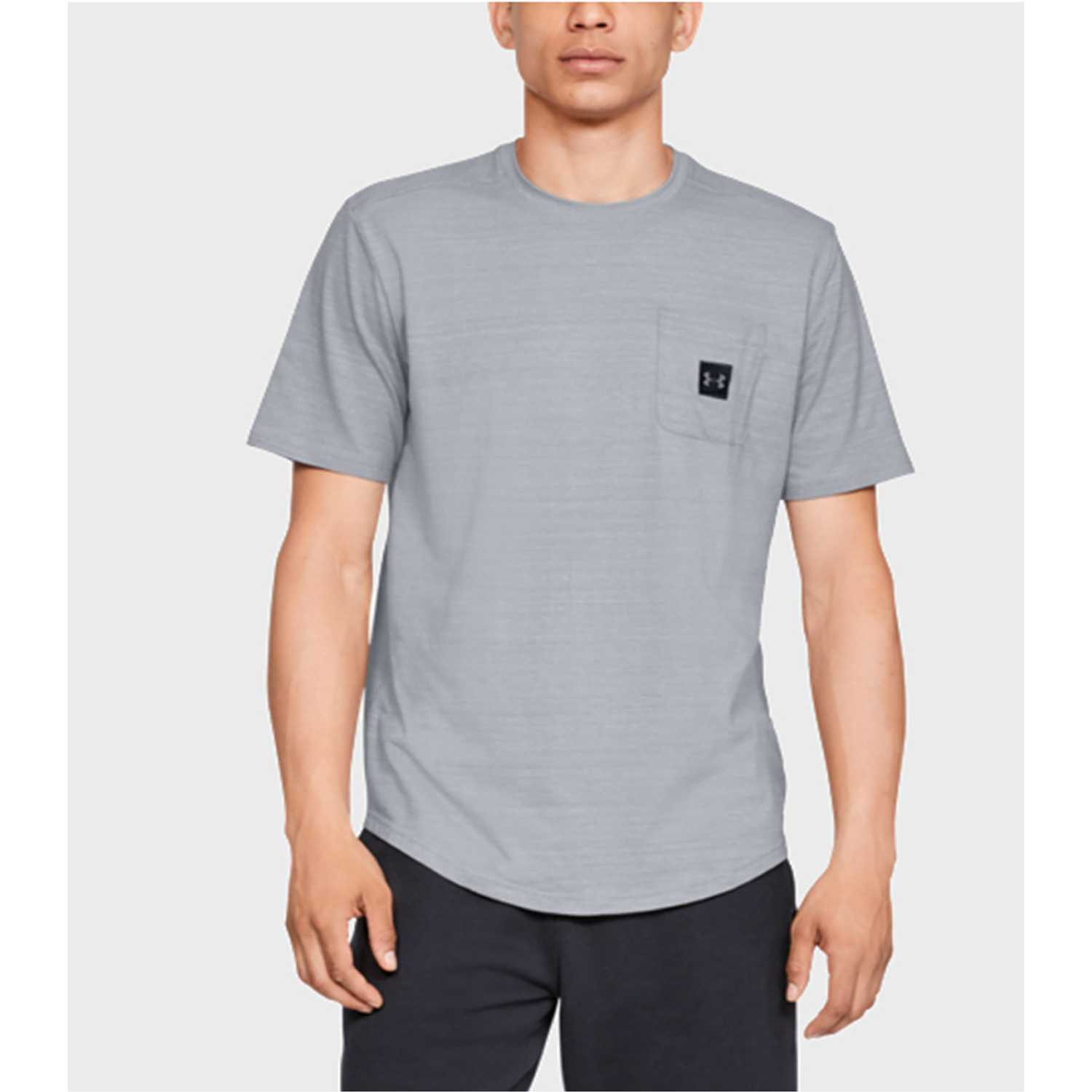 Polo de Hombre Under Armour Gris sportstyle pocket tee-gry