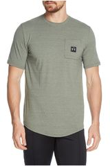 Polo de Hombre Under Armour Plomo sportstyle pocket tee-grn