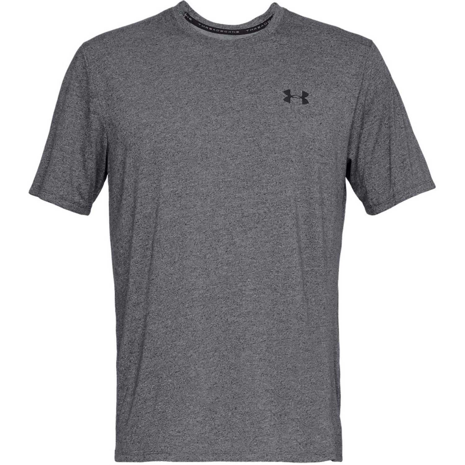 Polo de Hombre Under Armour Plomo ua siro ss-blk