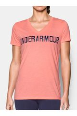 Under Armour Rosado de Mujer modelo threadborne v graphic twist Polos Deportivo