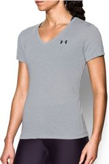 Under Armour Gris de Mujer modelo threadborne train ssv twist Deportivo Polos