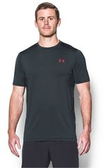 Polo de Hombre Under Armour Negro ua raid ss