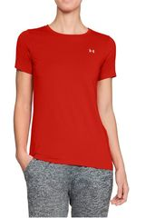 Polo de Mujer Under Armour Naranja ua hg armour ss-red