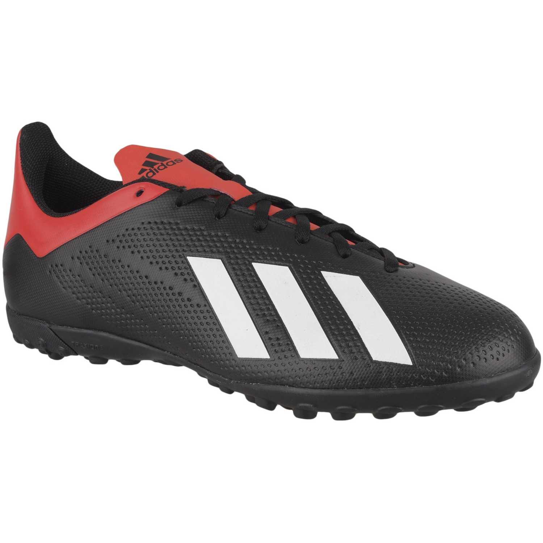 online store 857b7 1b5eb Zapatilla de Hombre Adidas Negro   rojo x 18.4 tf