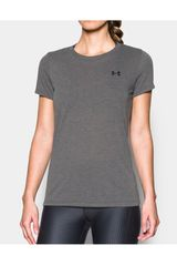 Under Armour Gris de Mujer modelo threadborne train ssc-gry Polos Deportivo