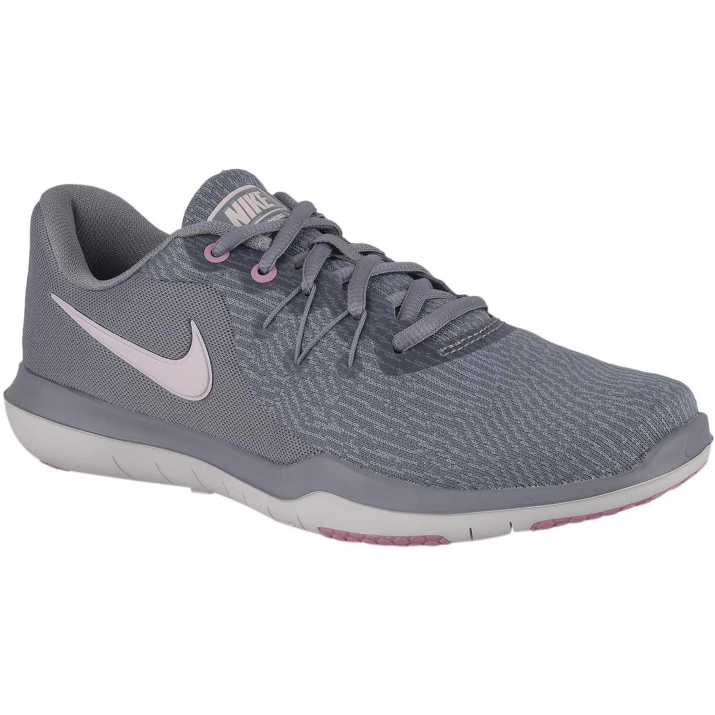Zapatilla de Mujer Nike Plomo / rosado wmns flex supreme tr 6