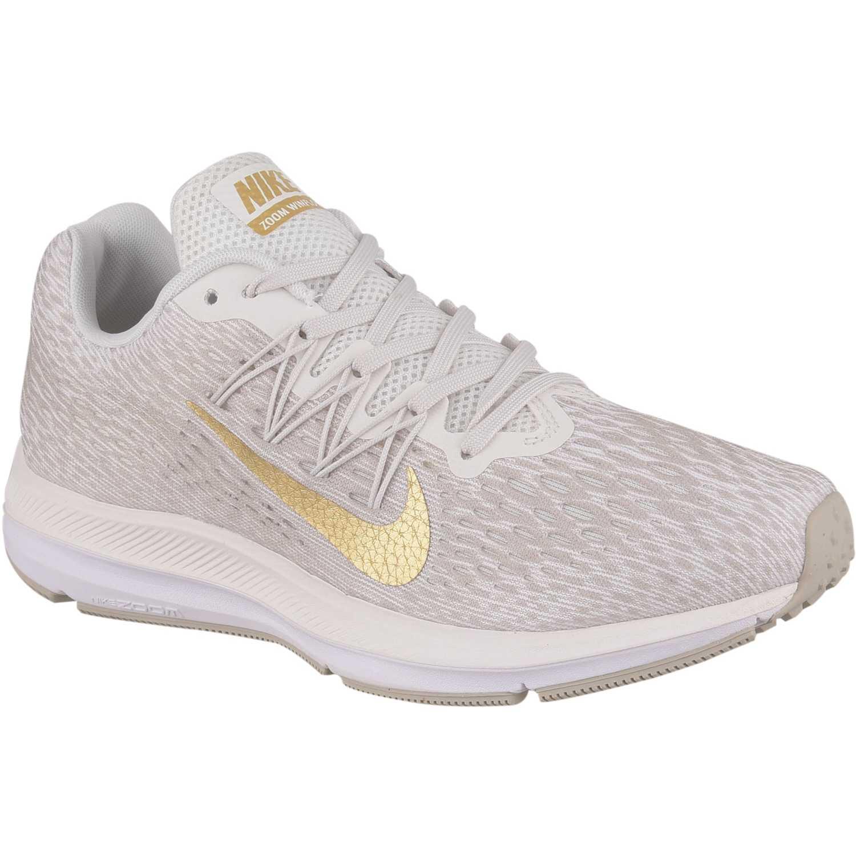 Zapatilla de Mujer Nike Blanco / dorado wmns nike zoom winflo 5