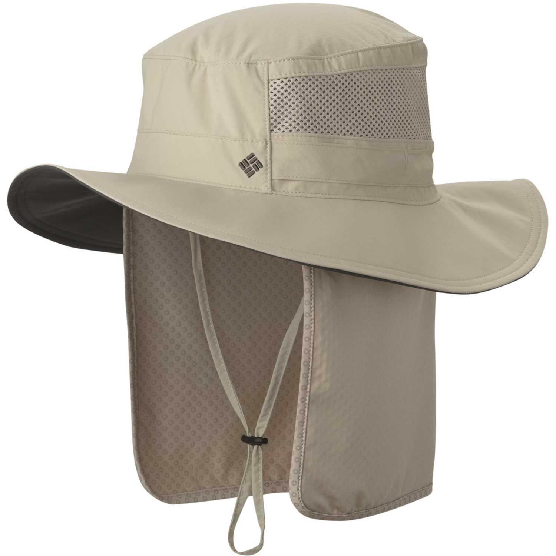 Sombrero de Hombre Columbia Beige coolhead zero booney