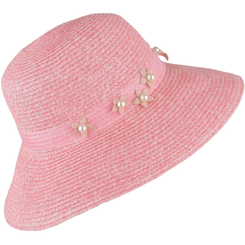 Sombrero de Mujer Platanitos Rosado style d