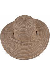 Platanitos Marron de Mujer modelo T4-10-A Sombreros Casual