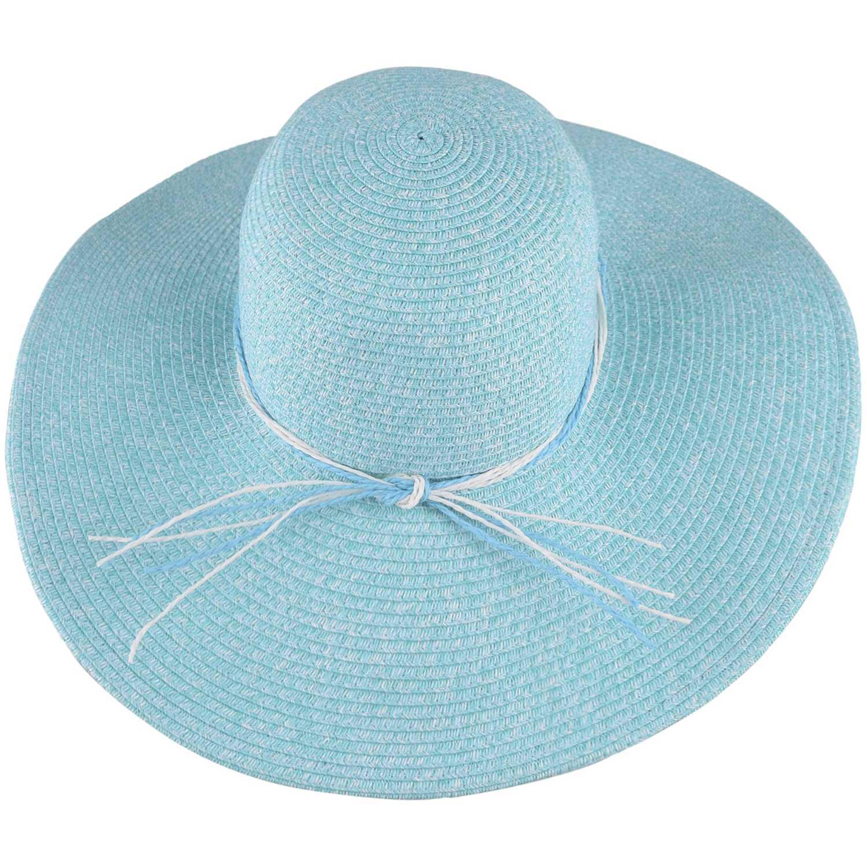 Sombrero de Mujer Platanitos Turquesa t7-34a