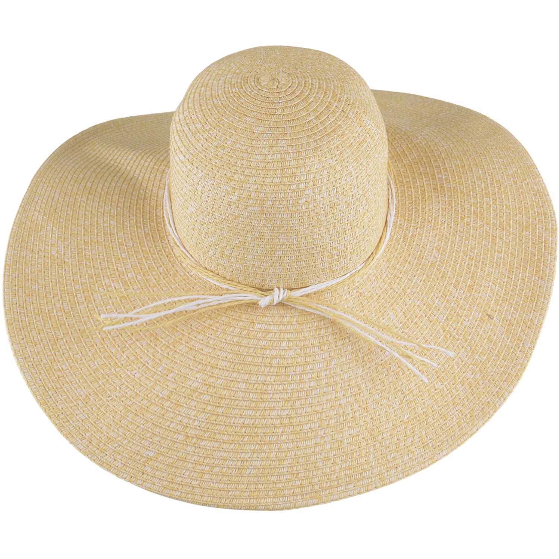 Sombrero de Mujer Platanitos Beige t7-34a