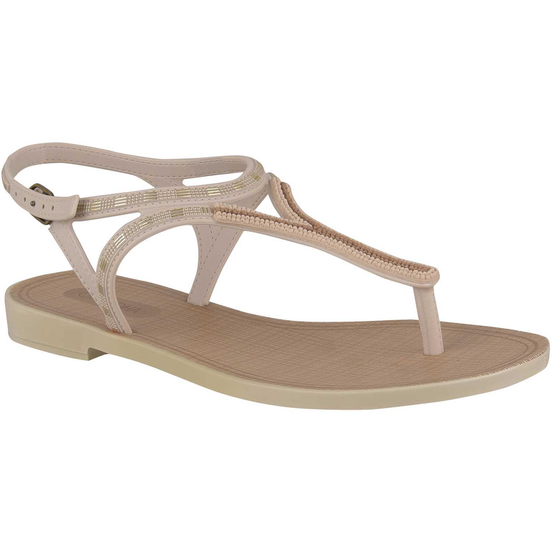 Sandalia de Mujer Grendha Blanco natural chic sand ad