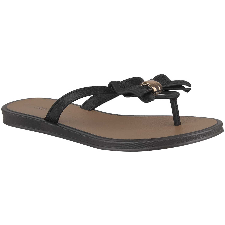 Sandalia de Mujer Grendha Negro ensolarada rast ad