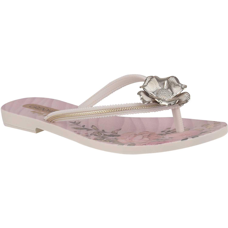 Sandalia de Mujer Grendha Blanco mais rosa ii fem