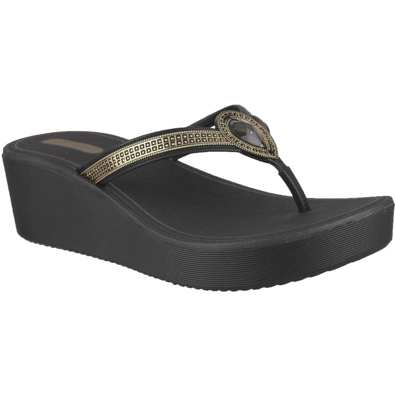 Sandalia de Mujer Grendha Negro eternizar plat fem