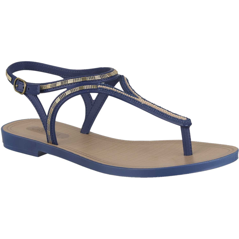 Sandalia de Mujer Grendha Azul natural chic sand ad