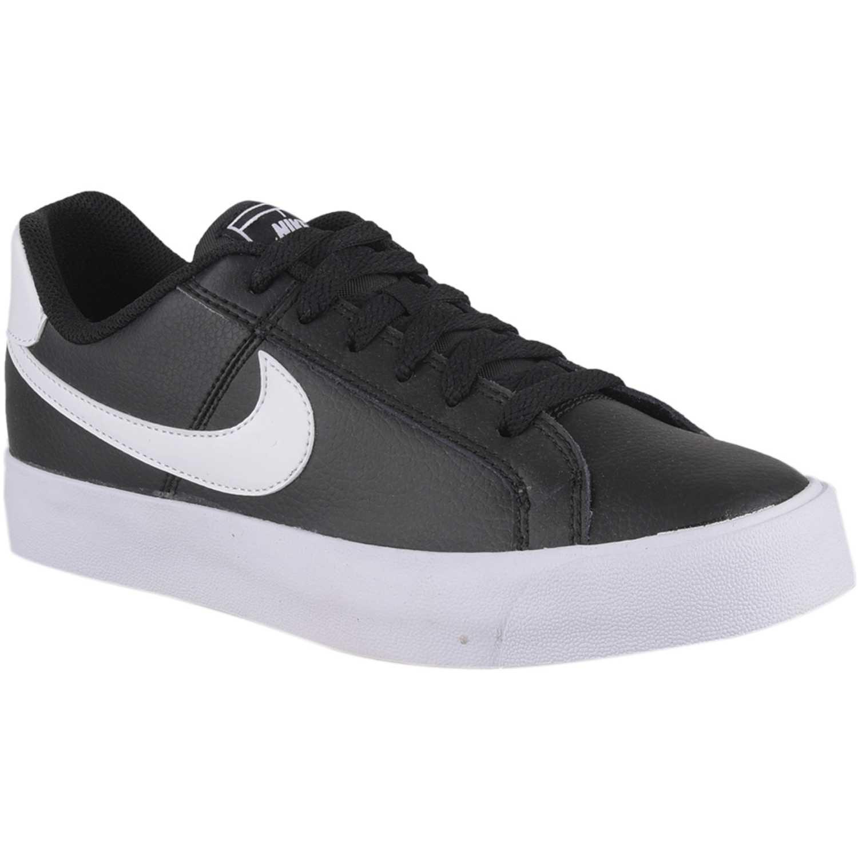 release date 09787 bcc0c Zapatilla de Mujer Nike Negro / blanco wmns nike court royale ac ...
