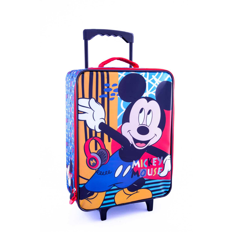Mochila con ruedas de Niño Scool Amarillo 9 scool mickey maleta económica