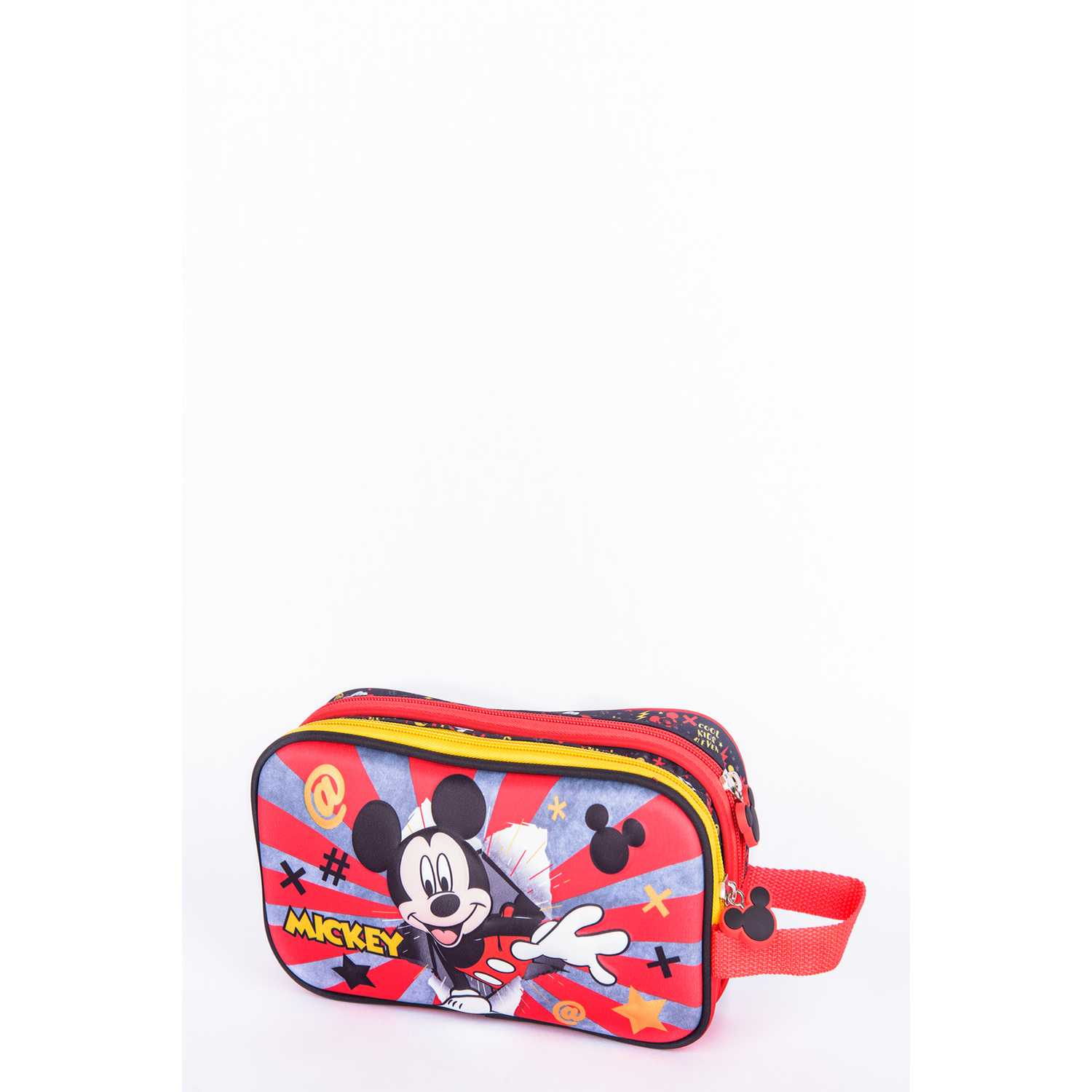 Cartuchera de Niño Scool Rojo / negro 9 scool mickey cart eva 3d d/cierre_a