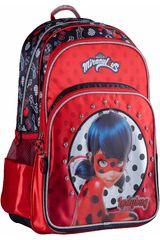 Scool Rojo de Niña modelo 9 scool lady bug moch 3bol t c/pvc Mochilas