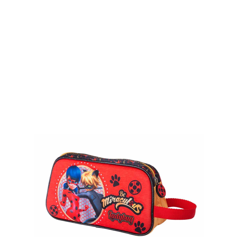 Cartuchera de Niña Scool Rojo / negro 9 scool lady bug cart fantasia division