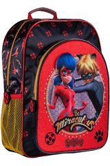 Scool Rojo / negro de Niña modelo 9 scool lady bug moch kids Mochilas