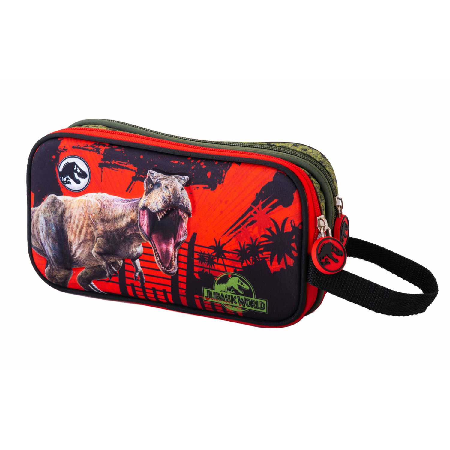 Cartuchera de Niño Scool Rojo 9 scool jurassic cart eva 3d d/cierre_b