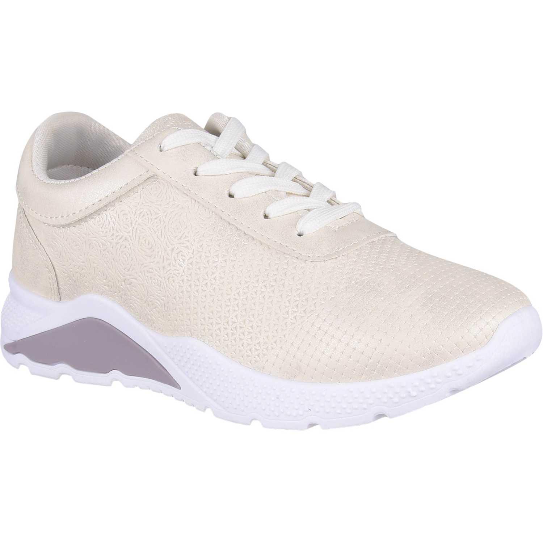 Zapatilla de Mujer Platanitos Blanco z o004