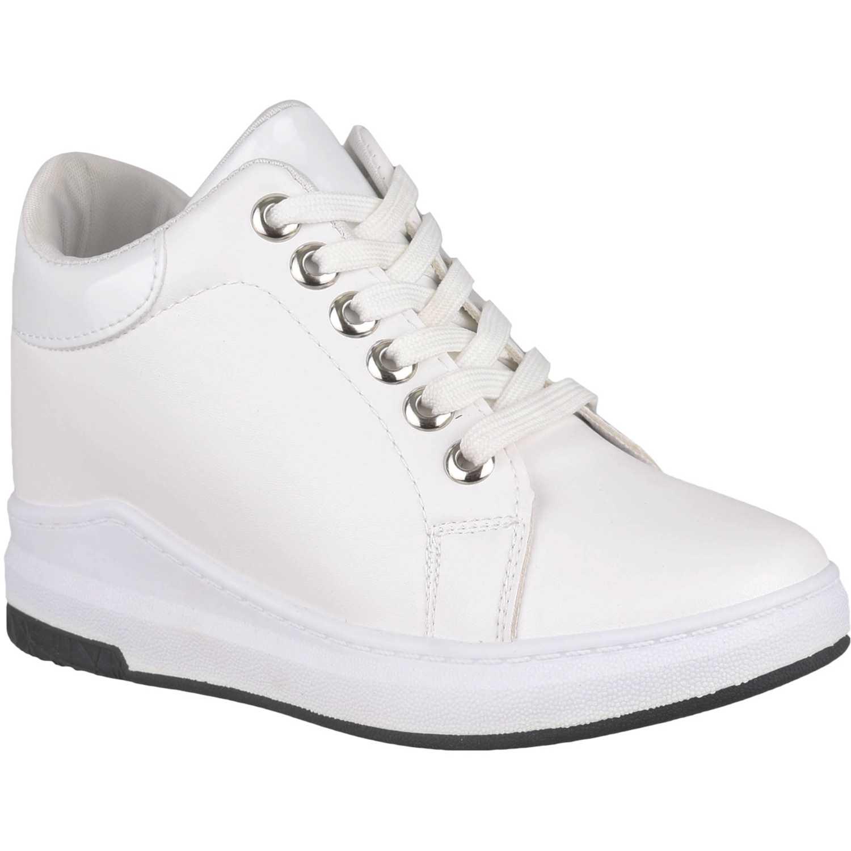 Zapatilla de Mujer Platanitos Blanco zw cool6