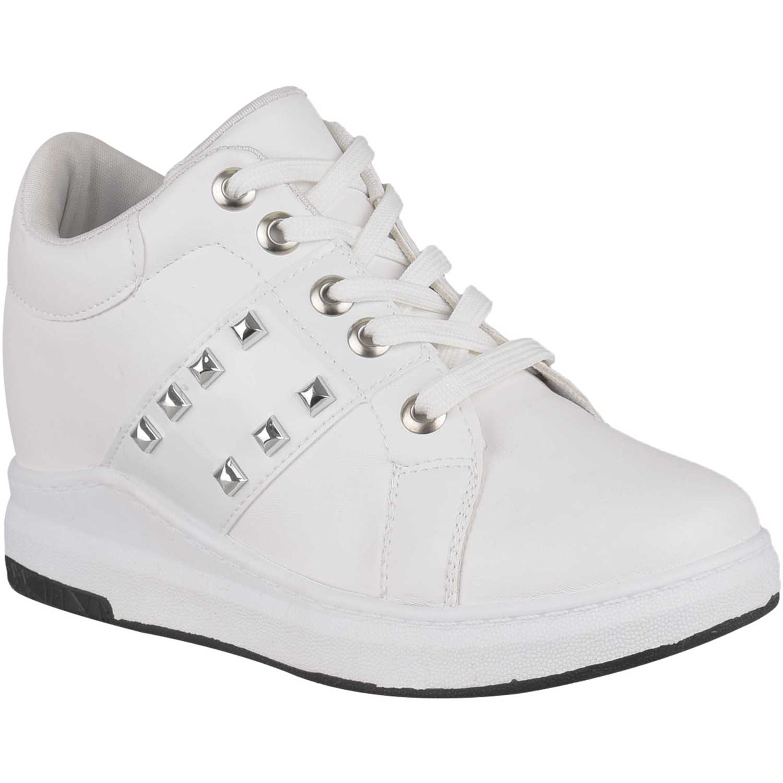 Zapatilla de Mujer Platanitos Blanco zw cool4
