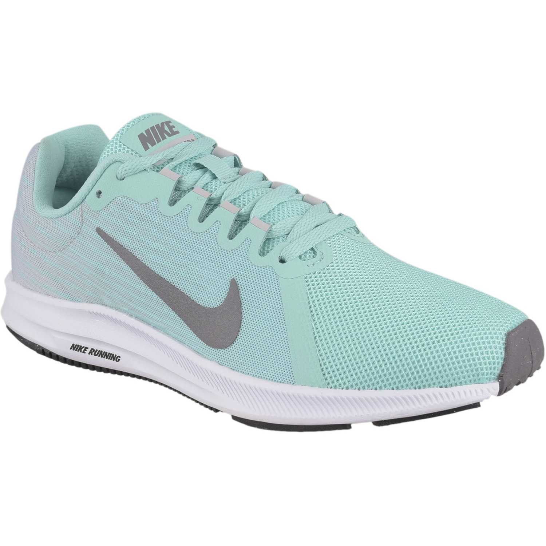 Zapatilla de Mujer Nike Gris / verde wmns nike downshifter 8