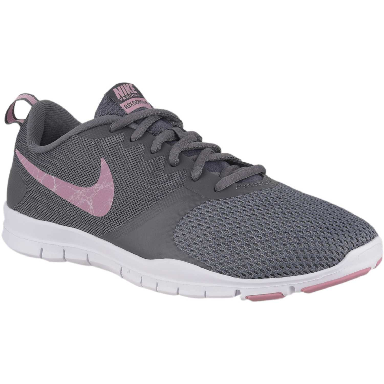 Zapatilla de Mujer Nike Gris / rosado wmns nike flex essential tr