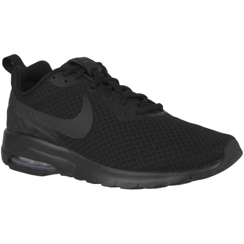 Zapatilla de Hombre Nike Negro / plomo nike air max motion lw