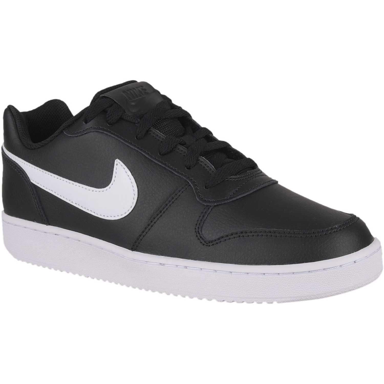 Zapatilla de Hombre Nike Negro / blanco nike ebernon low