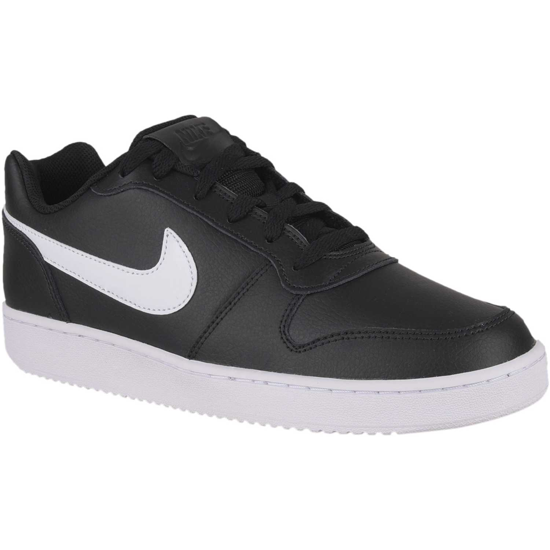 Zapatilla de Hombre Nike Negro   blanco nike ebernon low ... 450bbd536547f