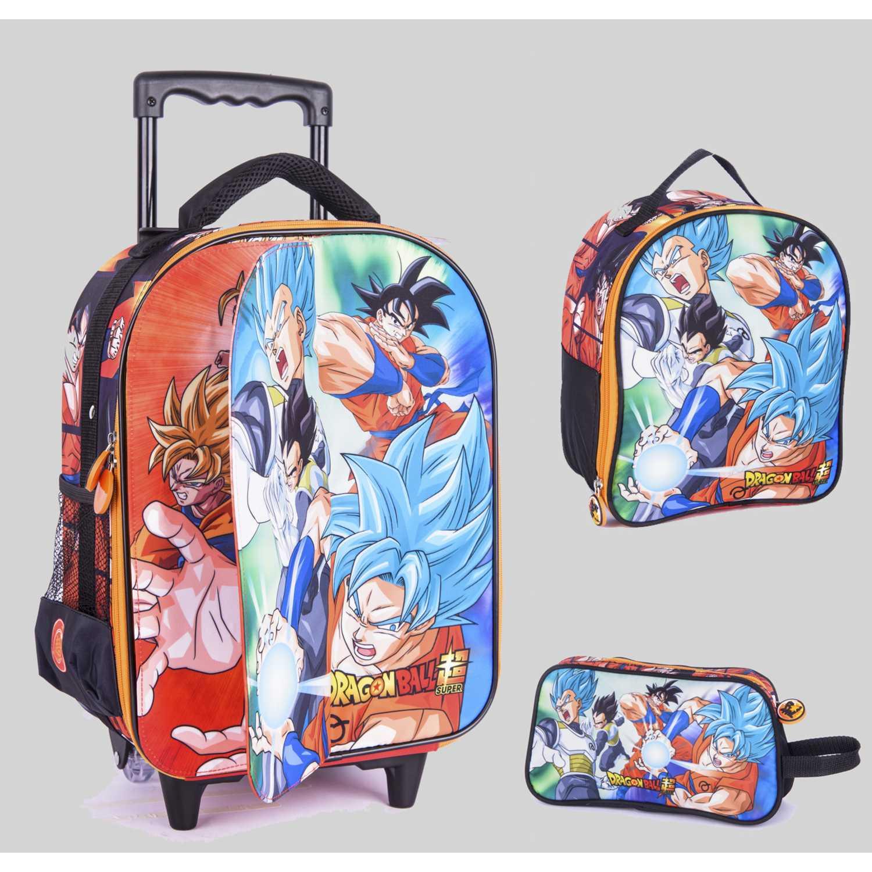 Pack mochilas de Niño Scool Varios 9 scool dragon ball set cuento med