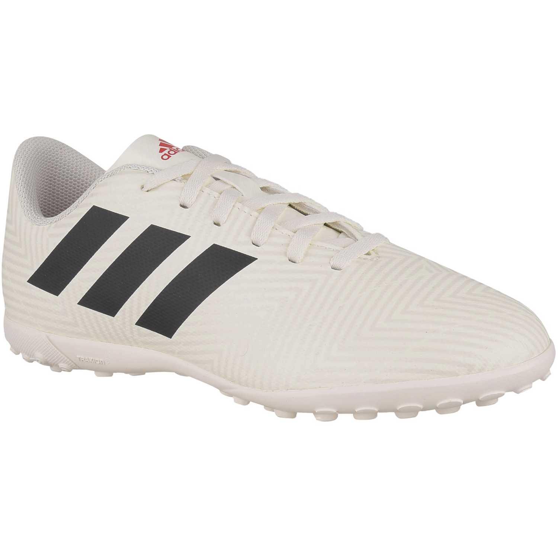 sports shoes 512a0 77dbe Zapatilla de Jovencito Adidas Blanco  negro nemeziz 18.4 tf j