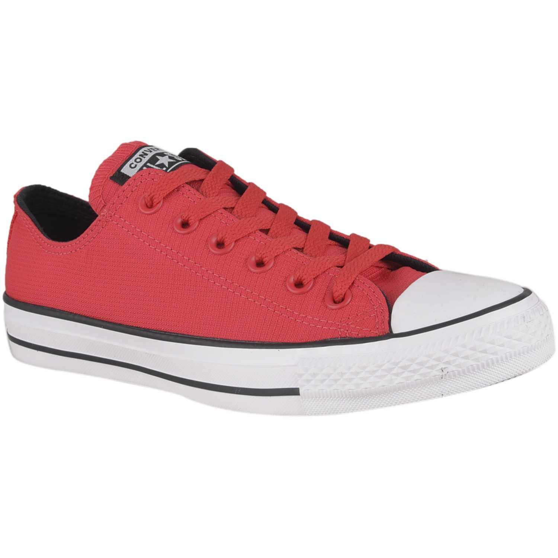 Zapatilla de Hombre Converse Rojo / blanco ctas lightweight nylon ox