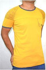 ROCK & RELIGION Amarillo de Hombre modelo krugger Deportivo Polos