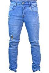 ROCK & RELIGION Celeste de Hombre modelo gotfried Casual Jeans Pantalones