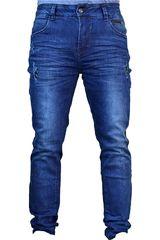 ROCK & RELIGION Stone de Hombre modelo geofrey Jeans Casual Pantalones