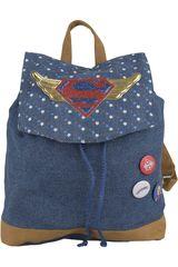 Kiddo Azul de Niña modelo mochila teens dc super hero girls Mochilas