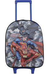 Mochila con ruedas de Niño Kiddo Negro / rojo mochila con ruedas justice league 5d