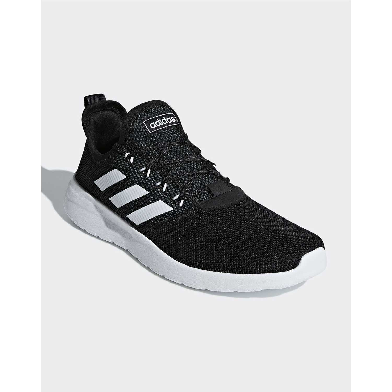 15dc9917633 Zapatilla de Hombre Adidas Negro   blanco lite racer rbn ...