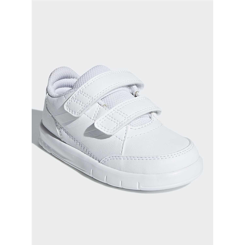 hot sale online b4ac8 a3b1e Zapatilla de Niño Adidas Blanco altasport cf i