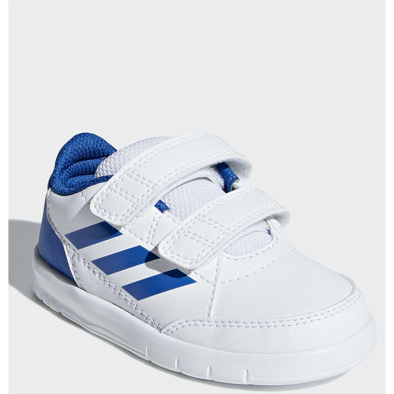 Zapatilla de Niño Adidas Blanco / azul altasport cf i