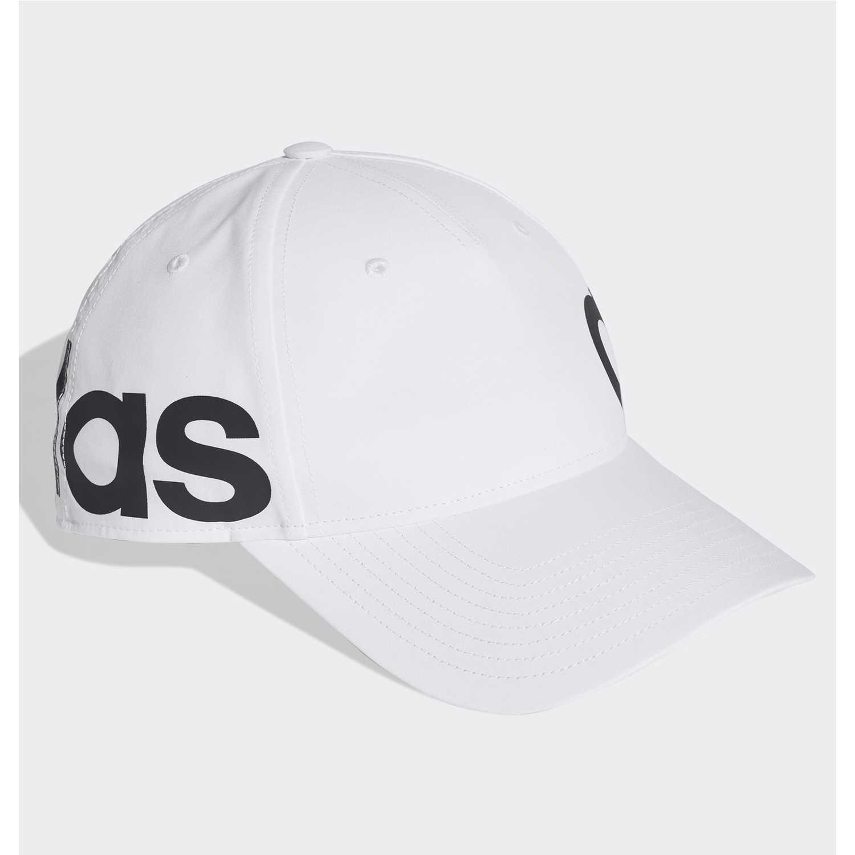 Gorro de Mujer Adidas Blanco   negro c40 linear cap  e49e8c0ec33