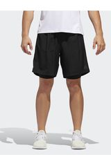 Adidas Negro de Hombre modelo own the run 2n1 Shorts Deportivo